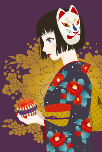 琵琶伝-泉鏡花-イメージ
