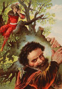 勇ましいちびの仕立て屋-グリム童話-イメージ