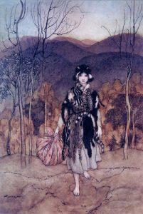 千匹皮-グリム童話-イメージ
